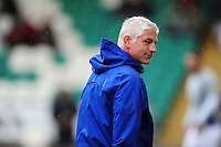 Bath Director of Rugby Todd Blackadder looks on during the pre-match warm-up. Aviva Premiership match, between Northampton Saints and Bath Rugby on September 3, 2016 at Franklin's Gardens in Northampton, England. Photo by: Patrick Khachfe / Onside Images
