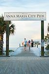 Florida, Anna Maria Island, City Pier, Manatee County, Tampa Bay, Beach, Sunset
