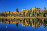 &quot;Fall Reflection on Horse River&quot;<br />