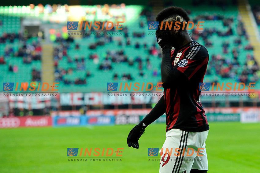 M'Baye Niang Milan<br /> Milano 6-01-2016 Stadio Giuseppe Meazza - Football Calcio Serie A Milan - Bologna. Foto Giuseppe Celeste / Insidefoto