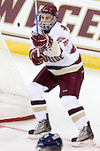 Paul Carey (BC - 22) - The Boston College Eagles defeated the visiting University of Toronto Varsity Blues 8-0 in an exhibition game on Sunday afternoon, October 3, 2010, at Conte Forum in Chestnut Hill, MA.