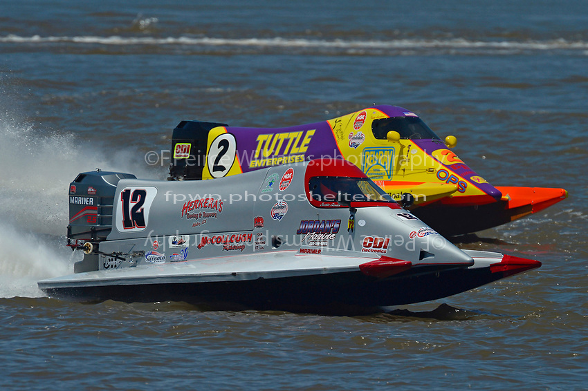 #12 and Tracy Hawkins (#2)           (Formula 1/F1/Champ class)