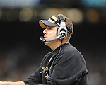 New Orleans Saints coach Sean Payton vs. New York Giants at the Superdome in New Orleans, La. on Monday, November 28, 2011. New Orleans won 49-24.