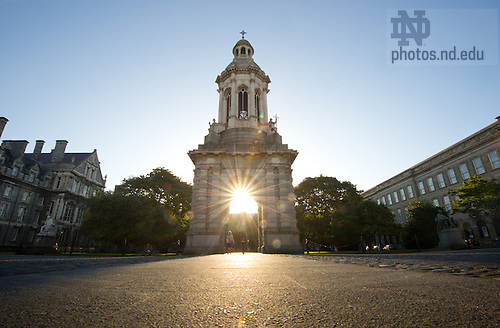 Aug. 30, 2012; The main quad of Trinity College, Dublin...Photo by Matt Cashore/University of Notre Dame