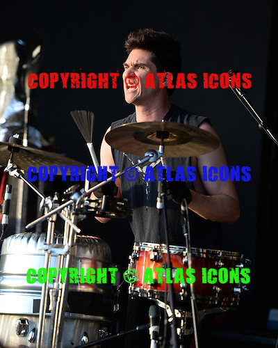 BOCA RATON, FL - JULY 10: Brian Viglione of the Violent Femmes performs at the Sunset Cove Ampitheatre on July 10, 2015 in Boca Raton, Florida.  Photo by Larry Marano © 2015