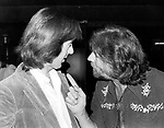 John Mayall 1979 with Spencer Davis at a reception for John Mayall in Hollywood<br /> &copy; Chris Walter