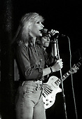 BLONDIE - Debbie Harry and Frank Infante - performing live at Dingwalls in Camden London UK - 24 Jan 1978.  Photo credit: George Bodnar Archive/IconicPix