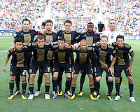 Philadelphia Union starting eleven during the first MLS match at PPL stadium in Chester, Pa. on June 27 2010. Union won 3-1.
