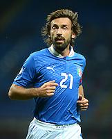 Fussball International  WM Qualifikation 2014   Italien - Daenemark                16.10.2012 Andrea Pirlo (Italien)