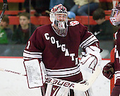 Alex Evin (Colgate - 1) - The Harvard University Crimson defeated the visiting Colgate University Raiders 6-2 (2 EN) on Friday, January 28, 2011, at Bright Hockey Center in Cambridge, Massachusetts.