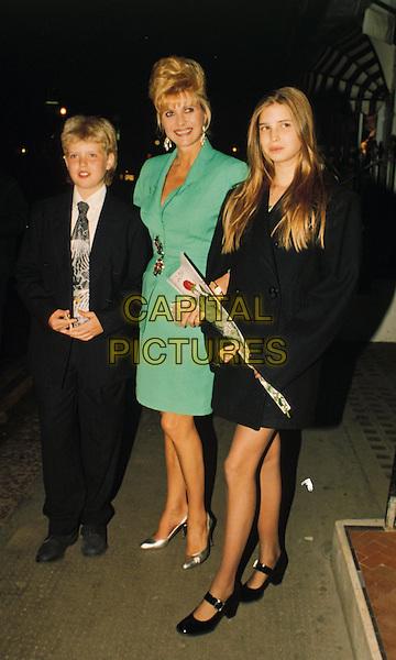 IVANA & IVANKA TRUMP.Ref: Danny Young.www.capitalpictures.com.sales@ ... Ivanka Trump