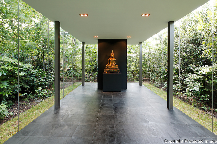 Meditation space, 53 Mount Ararat Road. Architect: Julia Haensel