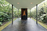 Glass Walled Meditation Space: 53 Ararat Road