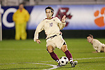 14 November 2008: Boston College's Mor Avi Hanan (10). The University of Maryland defeated Boston College 1-0 at WakeMed Stadium at WakeMed Soccer Park in Cary, NC in a men's ACC tournament semifinal game.