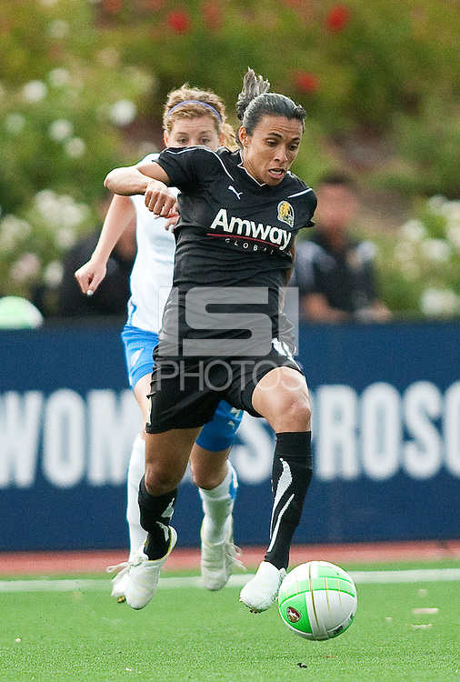 HAYWARD, CA--FC Gold Pride vs. Boston Breakers, Pioneer Stadium, California State University East Bay.