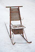 Old Fashioned Kicksled