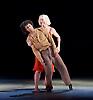 Transfigured Night<br /> Choreography by Kim Brandstrup<br /> at Sadler&rsquo;s Wells, London, Great Britain <br /> press photocall / rehearsal <br /> 3rd November 2015 <br /> <br /> Music by Arnold Schoenberg - Verkl&auml;rte Nacht<br /> Designed by Chloe Lamford<br /> Lighting design by Fabiana Piccioli<br /> <br /> Dancers: Miguel Altunaga &amp; Simone Damberg W&uuml;rtz<br /> <br /> <br /> <br /> <br /> Image licensed to Elliott Franks Photography Services