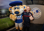 Kenny Miller opens Broxi's Den the new sensory room at Ibrox for children with complex learning difficulties