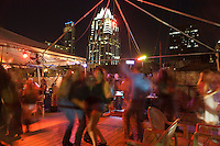 Partying and dancing on rooftops on 6th Street is a staple of the bristling Austin nightlife scene.