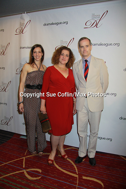 - 78th Drama <br /> League Awards on May 18, 2012 at the New York Marriott Marquis Hotel, New York City New York. (Photo by Sue Coflin/Max Photos) Lori Fineman, Mary Testa, Jack Cummings III