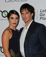 BURBANK, CA - OCTOBER 22: Ian Somerhalder, Nikki Reed attends the Environmental Media Association 26th Annual EMA Awards Presented By Toyota, Lexus And Calvert at Warner Bros. Studios on October 22, 2016 in Burbank, California (Credit: Parisa Afsahi/MediaPunch).