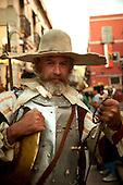 Don Quijote, Cervantes Festival, Guanajuato, Mexico