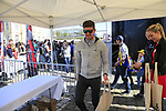 Luke Durbridge (AUS) Orica-Scott at the Team Presentation for the upcoming 115th edition of the Paris-Roubaix 2017 race held in Compiegne, France. 8th April 2017.<br /> Picture: Eoin Clarke | Cyclefile<br /> <br /> <br /> All photos usage must carry mandatory copyright credit (&copy; Cyclefile | Eoin Clarke)