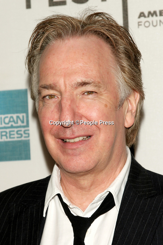 New York - Alan Rickman at the Tribeca Film Festival, New York, USA - May 5th 2006..