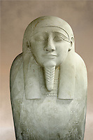 Ancient Egyptian Ptolemaic sacrophagus of the prophet Ahmose. 332-30 BC. Neues Museum Berlin AM 38.