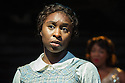 London, UK. 12.07.2013. THE COLOR PURPLE, THE MUSICAL opens at the Menier Chocolate Factory. Based on the novel by Alice Walker and the Warner Bros/Amblin Entertainment Motion Picture, it is directed by John Doyle. Picture shows:   Cynthia Erivo (Celie) and Nicola Hughes (Shug Avery). Photograph © Jane Hobson.