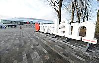 World Cup Thialf 111216<br /> voorzijde<br /> &copy;foto Martin de Jong SCHAATSEN: HEERENVEEN: 11-12-2016, IJsstadion Thialf, ISU World Cup, &copy;foto Martin de Jong
