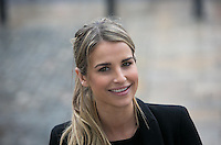 02/04/2015<br /> Vogue Williams Model, DJ &amp; Presenter <br />  during the Pride of Ireland judging day in the Mansion House, Dublin.<br /> Photo:  Gareth Chaney Collins