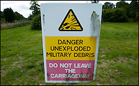 BNPS.co.uk (01202) 558833<br /> Picture: PhilYeomans/BNPS<br /> <br /> Off limits to the public.<br /> <br /> Long hot summer a boost for the bee man of Salisbury Plain.<br /> <br /> One of Britains last wilderness area's is a hive of activity this summer as an army of busy bees swarm across Salisbury plain in Wiltshire.<br /> <br /> Major Chris Wilkes commands an astonishing 8 million bees in 150 hives dotted across the unique enviroment of the plain. The chalkland host's an amazingly wide range of rare wildflowers as 60,000 acres of SSSI have never been treated with modern pesticides.<br /> <br /> The wet winter and dry spring have produced perfect conditions for the diverse flora of the grasslands, with the isolation of the plain creating a cornucopia of the top nectar flowers in the UK  producing a honey with the distinctive flavour of one of Britains last wilderness areas.