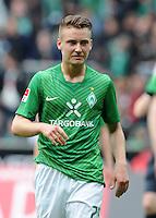 FUSSBALL   1. BUNDESLIGA   SAISON 2011/2012   32. SPIELTAG SV Werder Bremen - FC Bayern Muenchen               21.04.2012 Tom Trybull (SV Werder Bremen) enttaeuscht