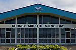 Alotau, Milne Bay, Papua New Guinea; Gurney Airport Milne Bay, terminal building, airport named after Bob Gurney, RAAF pilot killed in action during World War II, May 2, 1942 , Copyright © Matthew Meier, matthewmeierphoto.com