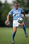16 September 2005: Heather O'Reilly. The North Carolina Tarheels defeated the San Diego Toreros 3-0 at Duke University's Koskinen Stadium in Durham, NC in a NCAA Division I women's soccer game.