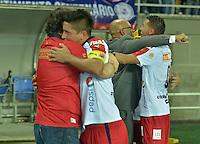 Aguilas Pereira V.S. Deportivo Independiente Medellin 30-11-2014. LP 2_2014 Cuadrangular Semifinal