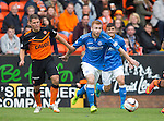 Dundee United v St Johnstone...27.09.14  SPFL<br /> Liam Caddis and John Rankin<br /> Picture by Graeme Hart.<br /> Copyright Perthshire Picture Agency<br /> Tel: 01738 623350  Mobile: 07990 594431