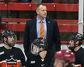 Bob Prier (Princeton - Head Coach) - The Harvard University Crimson defeated the Princeton University Tigers 3-2 on Friday, January 31, 2014, at the Bright-Landry Hockey Center in Cambridge, Massachusetts.