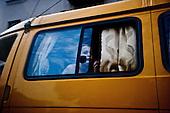 Sochi 06.06.2010 Russia<br /> A woman in the car. The Sochi Olympic Games Sochi residents are forbidden to leave the apartments. Most inhabitants are opposed to organized the Olympic, since knowledge of this would not be anything good of their city.<br /> Photo: Adam Lach / Newsweek Polska / Napo Images<br /> <br /> Kobieta w samochodzie. W Soczi podczas Igrzysk Olimpijskich miszkancy Soczi maja zakaz wychodzenia z mieszkan. Wiekszosc mieszkancow jest przeciwna organizowanym Igrzyskom, albowiem wiedza ze nie przyniesie to niczego dobrego ich miastu.<br /> Photo: Adam Lach / Newsweek Polska / Napo Images