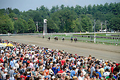 Despite racing's woes, there were plenty of big crowds.