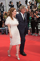 Julianne Moore &amp; Todd Haynes at the premiere for &quot;Wonderstruck&quot; at the 70th Festival de Cannes, Cannes, France. 18 May 2017<br /> Picture: Paul Smith/Featureflash/SilverHub 0208 004 5359 sales@silverhubmedia.com