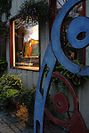 Art Gallery Front in the Evening Bayfield Ontario Canada