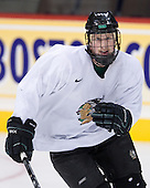 Jake Marto (North Dakota 25) - The 2008 Frozen Four participants practiced on Wednesday, April 9, 2008, at the Pepsi Center in Denver, Colorado.