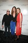Max Azria, Erin Wasson and Lubov Azria Backstage at BCBGMAXAZRIA Fall 2012 Runway Show Mercedes-Benz Fashion Week, NY 2/9/12