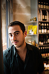 Daniel Rose, owner of Spring Boutique, epicerie fine. Paris 1e, France. November 25, 2009. Photo: Antoine Doyen for Monocle