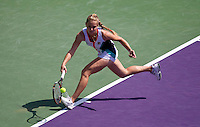 Anna CHAKVETADZE against Kimiko DATE KRUMM (JPN) in the first round. Date Krumm beat Chakvetadze 7-5 3-6 6-4..International Tennis - 2010 ATP World Tour - Sony Ericsson Open - Crandon Park Tennis Center - Key Biscayne - Miami - Florida - USA - Wed 24 Mar 2010..© Frey - Amn Images, Level 1, Barry House, 20-22 Worple Road, London, SW19 4DH, UK .Tel - +44 20 8947 0100.Fax -+44 20 8947 0117