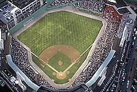 Fenway Park aerial view, Boston, MA