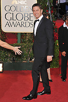 Gerard Butler at the 66th Annual Golden Globe Awards at the Beverly Hilton Hotel..January 11, 2009 Beverly Hills, CA.Picture: Paul Smith / Featureflash