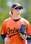 21 May 2007: Baltimore Orioles infielder Blake Davis in action against the Toronto Blue Jays during Baseball's Annual Hall of Fame Game at Doubleday Field in Cooperstown, NY. The Orioles defeated the Blue Jays 13-7 in front of a sellout crowd of 9,791 at the historical ballpark...Mandatory Credit: Ed Wolfstein Photo